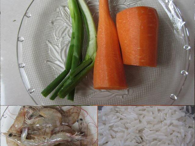 3 cách nấu cháo tôm cà rốt cho bé dễ làm mà giàu dinh dưỡng - 1