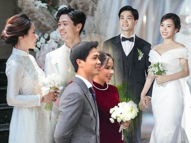 Đám cưới Công Phượng-Viên Minh: cô dâu chỉ diện váy đơn giản vẫn đẹp chuẩn tiểu thư nhà giàu