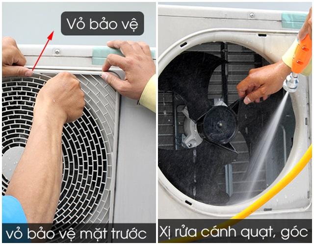 Cách vệ sinh máy lạnh, điều hòa tại nhà an toàn, hiệu quả - 7