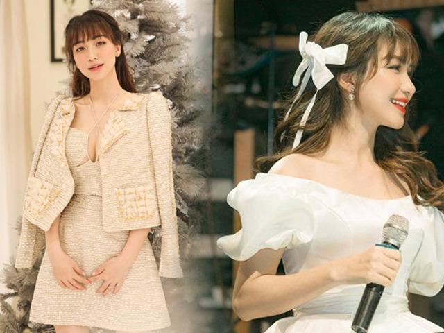 Ngày Công Phượng lấy vợ, Hoà Minzy không diện váy trắng vẫn đẹp lộng lẫy như nàng công chúa