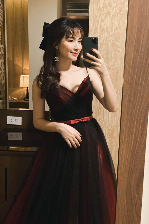 Ngày Công Phượng lấy vợ, Hoà Minzy không diện váy trắng vẫn đẹp lộng lẫy như nàng công chúa - 4