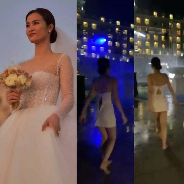 Sao Việt amp;#34;tả tơiamp;#34; trong đám cưới: Người rách váy, kẻ bị lột đồ vẫn không bằng Đông Nhi - 3