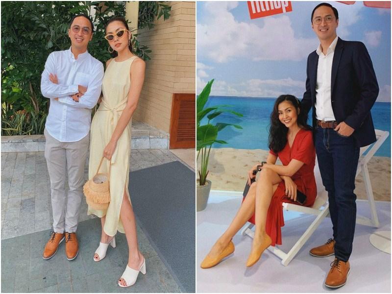Sánh đôi với chồng toàn diện váy thướt tha, đổi sang skinny jeans Hà Tăng liền bị soi khuyết điểm - 6