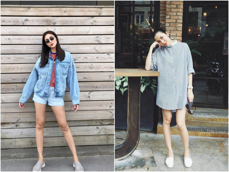Sánh đôi với chồng toàn diện váy thướt tha, đổi sang skinny jeans Hà Tăng liền bị soi khuyết điểm - 9