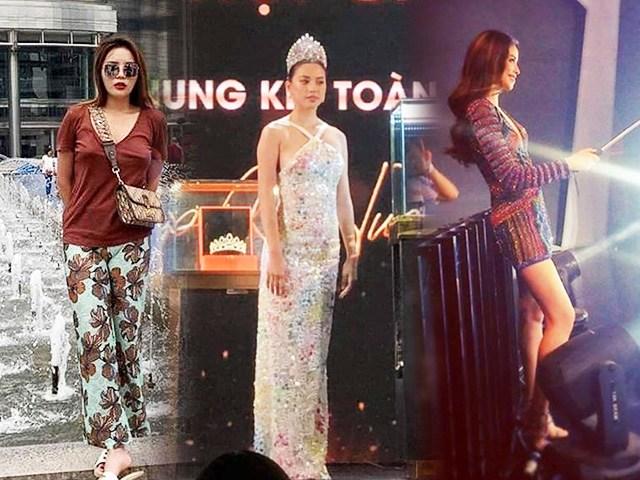 Nhan sắc Hoa hậu khi bị chụp lén: Tiểu Vy - Kỳ Duyên phát tướng, Phạm Hương không đối thủ