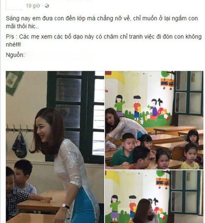 Cô giáo tiểu học mặt xinh, dáng chuẩn như idol Kpop làm dân tình say như điếu đổ - 1