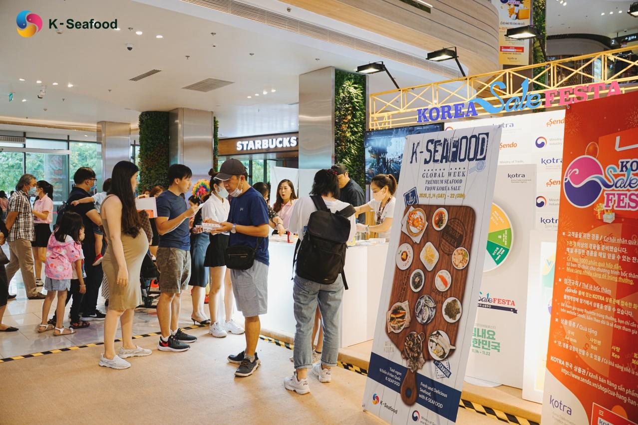K - Seafood Global Week - Tuần lễ giao lưu thuỷ hải sản Hàn Quốc tại Việt Nam - 1