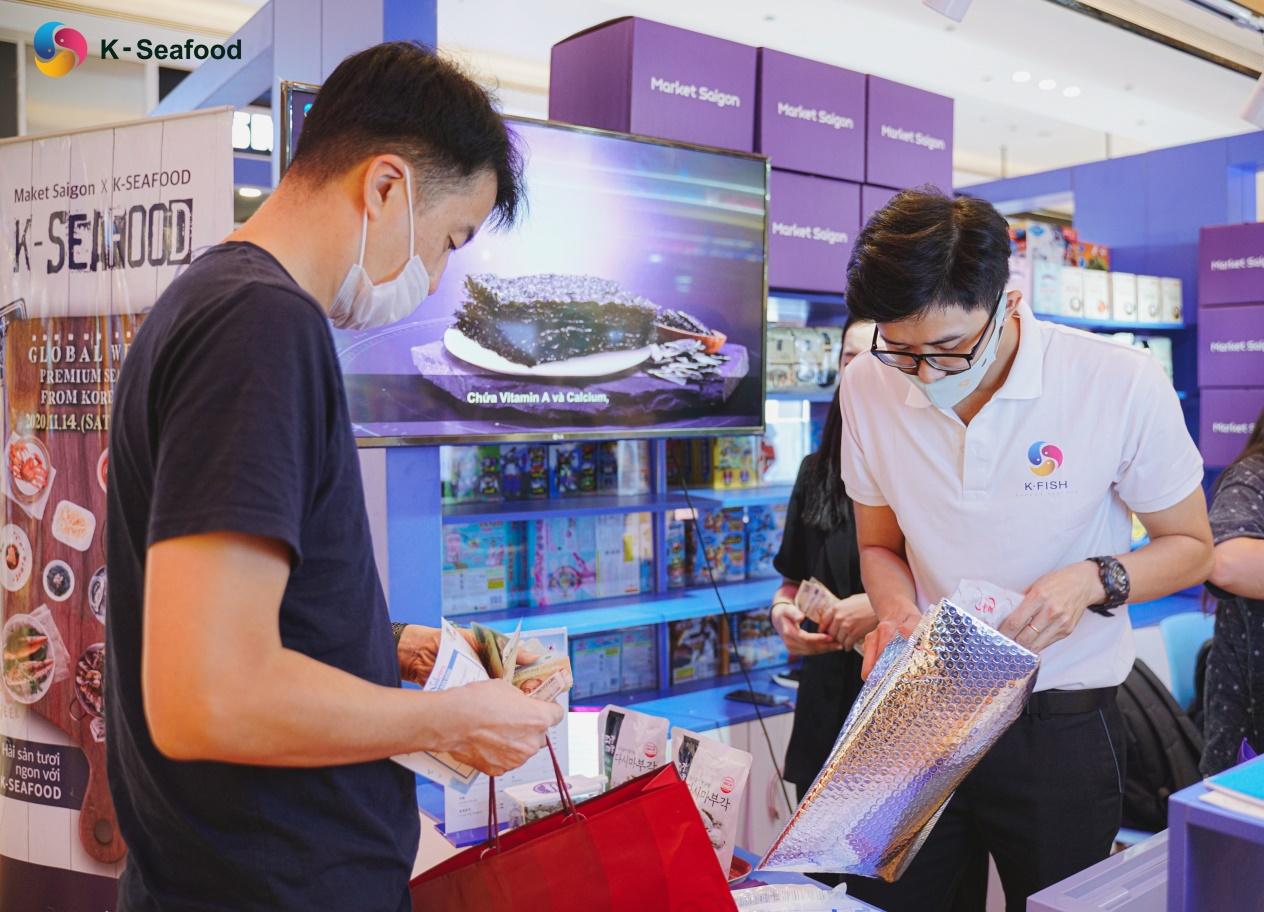 K - Seafood Global Week - Tuần lễ giao lưu thuỷ hải sản Hàn Quốc tại Việt Nam - 2