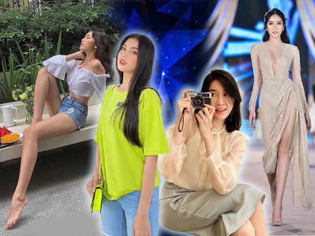 Style ăn mặc của 2 Á hậu HHVN: người khéo che khuyết điểm, người khoe chân dài 1m11