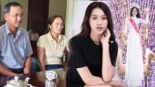 Phỏng vấn bố Tân Hoa hậu: Đỗ Thị Hà trốn nhà đi thi, lên cấp 3 mới biết điệu