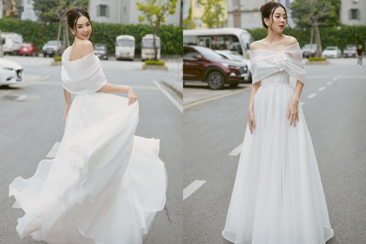"""Có ai như """"Hoa hậu nhà Đài"""" Mai Ngọc, cật lực độ eo 60 chỉ để diện đầm công chúa - 4"""