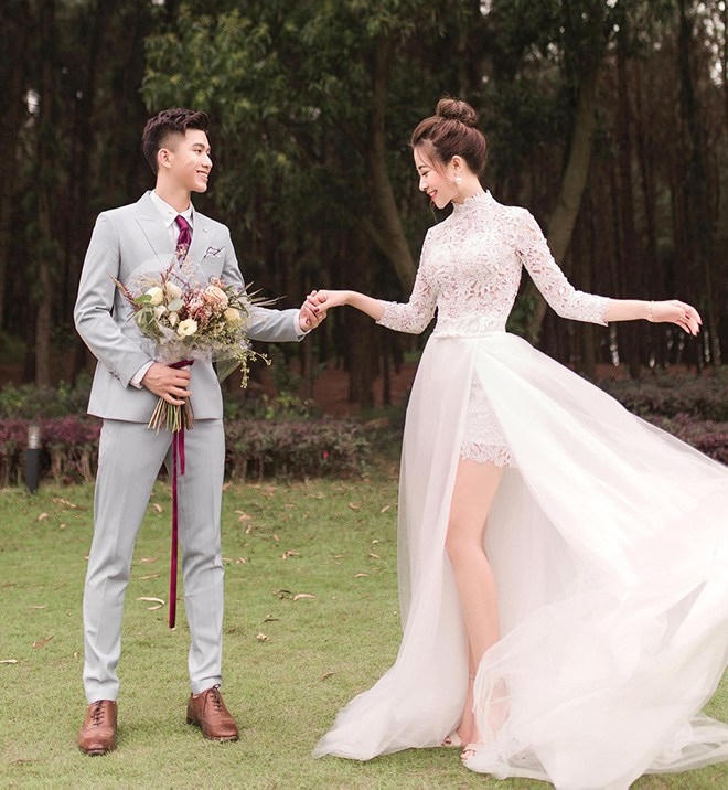 Váy cưới của hội WAGs: người mê diện đầm nửa tỉ, có người chỉ sắm váy 2 triệu - 10