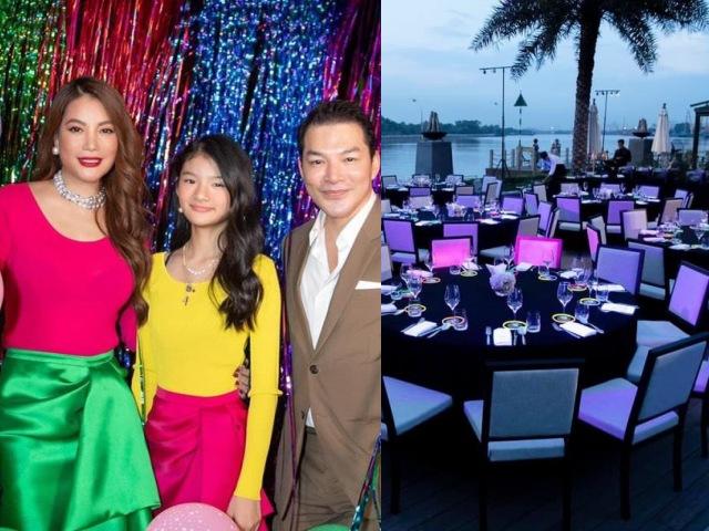 Trương Ngọc Ánh tái hợp Trần Bảo Sơn làm sinh nhật hoành tráng cho con gái Hoa hậu tương lai
