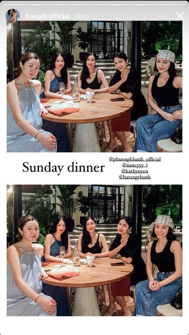 Hiếm hoi tụ họp, hội bạn thân của Hà Tăng hút sóng mạng bởi diện mạo trẻ đẹp bất chấp - 1
