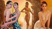 Mặc đầm dạ hội mà lộ da thịt nhiều hơn cả bikini, Vbiz chắc chỉ có Ngọc Trinh, Chi Pu