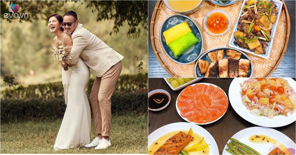 Cô dâu nổi tiếng có đám cưới hôm nay: Làm anh nhà tăng 10kg vì nấu ăn quá ngon