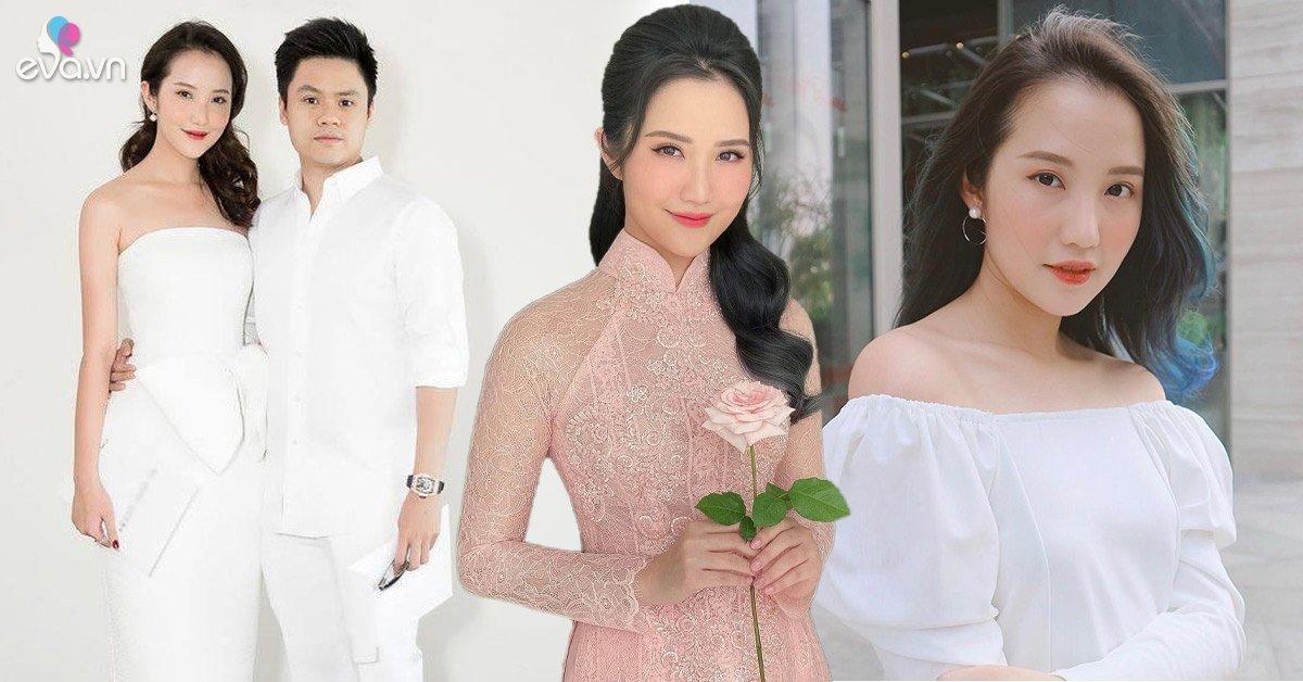 Primmy Trương, cô dâu của Phan Thành diện áo dài hồng, makeup ngọt ngào ngày đính hôn