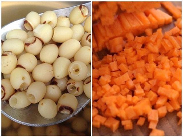 3 cách nấu cháo trứng gà cà rốt cho bé ăn dặm đơn giản - 6
