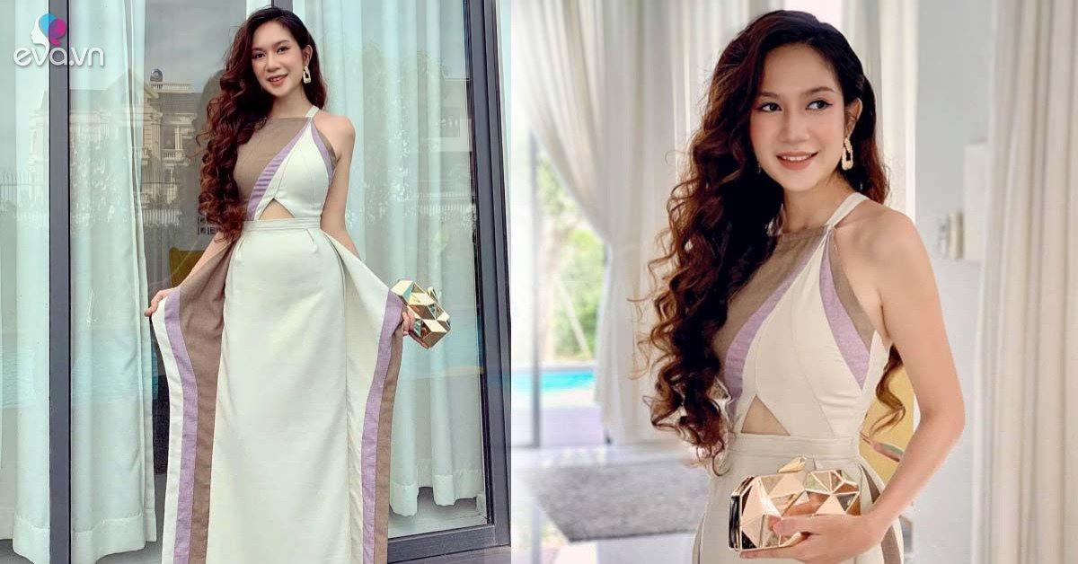 Nhà giàu nứt đố đổ vách, Minh Hà diện lại váy cũ vẫn đẹp như mới