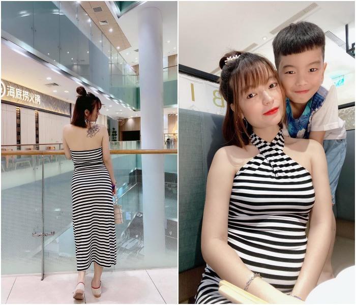 Hết mang giày cao lênh khênh, bạn gái Mạc Văn Khoa lại mê diện đồ ôm sát khi mang bầu - 9