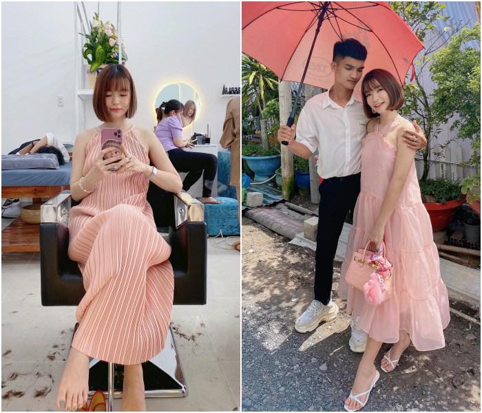 Hết mang giày cao lênh khênh, bạn gái Mạc Văn Khoa lại mê diện đồ ôm sát khi mang bầu - 10