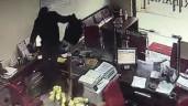 Clip vụ cướp ngân hàng táo tợn ở Đồng Nai