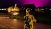 Xuất hiện bầu trời màu tím như trong phim viễn tưởng