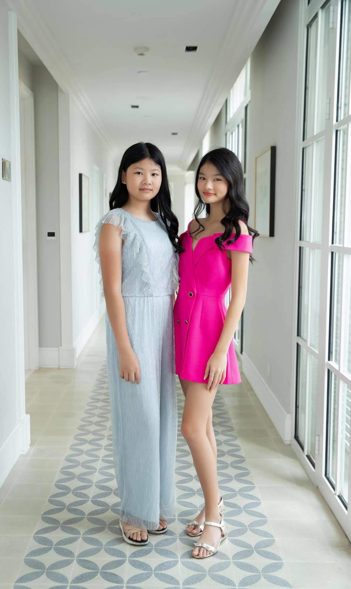 Con gái Trương Ngọc Ánh đứng cạnh một bé gái giống như chị em ruột, danh tính cũng không vừa - 4