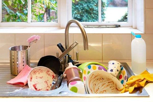 Muốn rửa bát nhanh, sạch mà không tốn sức cần chú ý 5 điều sau đây - 4