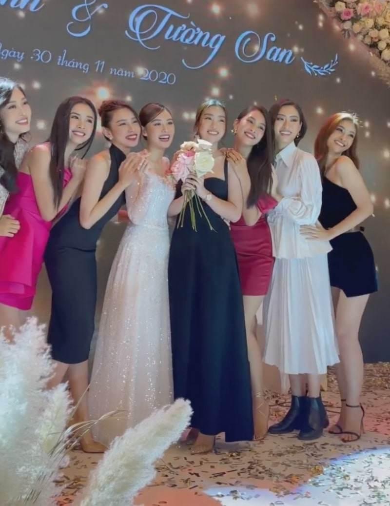 """Hoa hậu Tiểu Vy và á hậu Thuý An đi ăn cưới: mặc váy """"chặt chém"""" cô dâu Tường San - 10"""