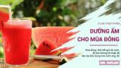 5 loại thực phẩm dưỡng ẩm cho da cấp tốc trong mùa Đông
