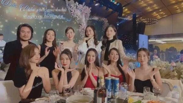 """Hoa hậu Tiểu Vy và á hậu Thuý An đi ăn cưới: mặc váy """"chặt chém"""" cô dâu Tường San - 6"""