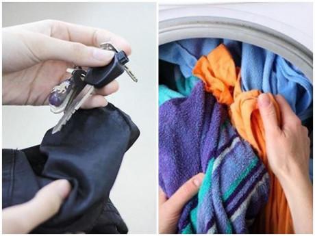 Những sai lầm khi dùng khiến máy giặt