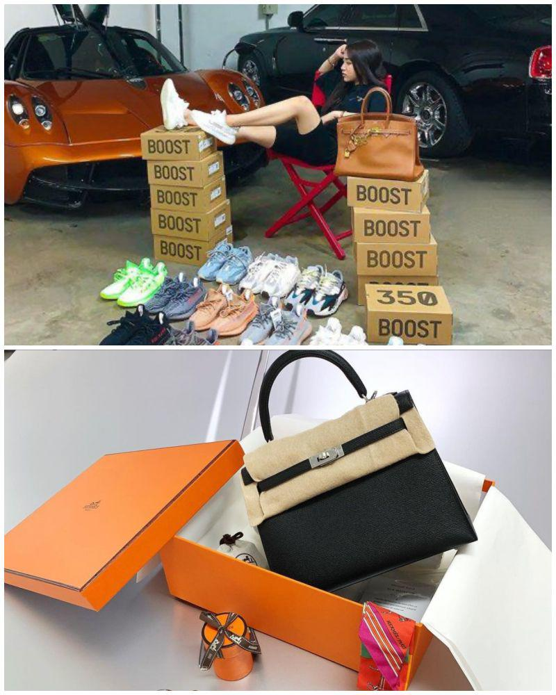 """Sắm hàng hiệu chán chê, con gái đại gia Minh Nhựa """"đập hộp"""" túi xách chỉ 70 ngàn - 3"""