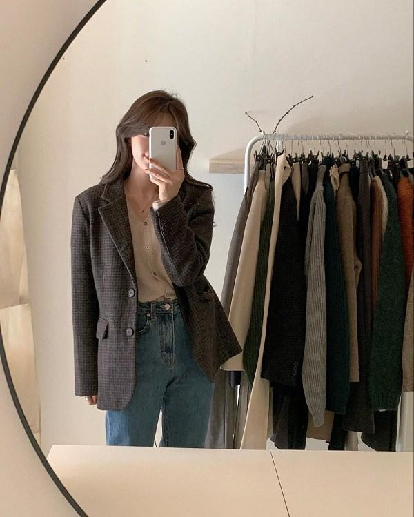 Kết hợp blazer với 4 kiểu áo này, nàng mặc đơn giản mấy cũng đẹp bất chấp trong mùa lạnh - 13