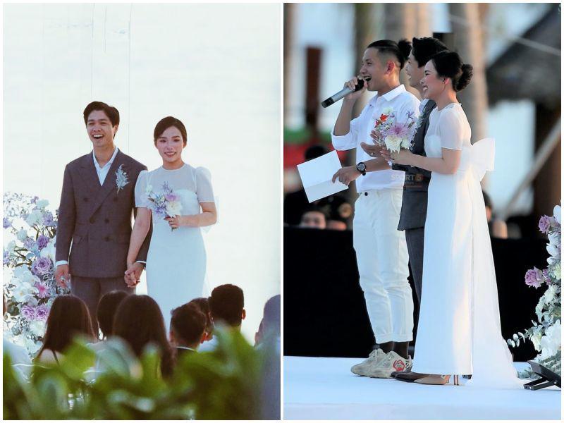 """Mặc lại váy cưới 2 triệu, Viên Minh """"lên đồ"""" chuẩn dâu xứ lạnh: trùm áo lông, mang vớ dày - 9"""