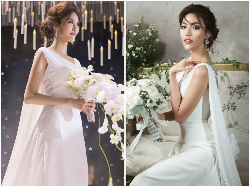 """Mặc lại váy cưới 2 triệu, Viên Minh """"lên đồ"""" chuẩn dâu xứ lạnh: trùm áo lông, mang vớ dày - 15"""