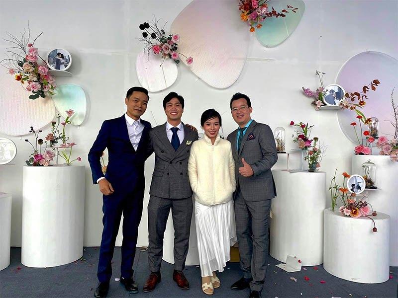 """Mặc lại váy cưới 2 triệu, Viên Minh """"lên đồ"""" chuẩn dâu xứ lạnh: trùm áo lông, mang vớ dày - 3"""