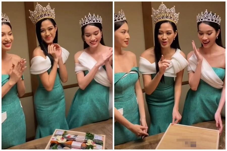 Đăng quang 15 ngày: Hoa hậu Đỗ Thị Hà hết bị chê gầy gò lại lộ bụng mỡ tròn ủm - 8