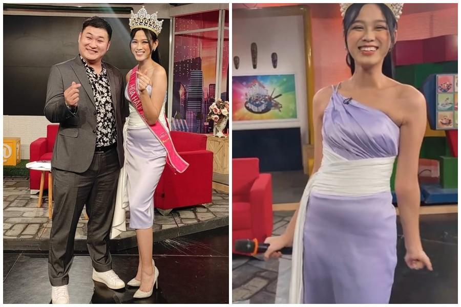 Đăng quang 15 ngày: Hoa hậu Đỗ Thị Hà hết bị chê gầy gò lại lộ bụng mỡ tròn ủm - 7
