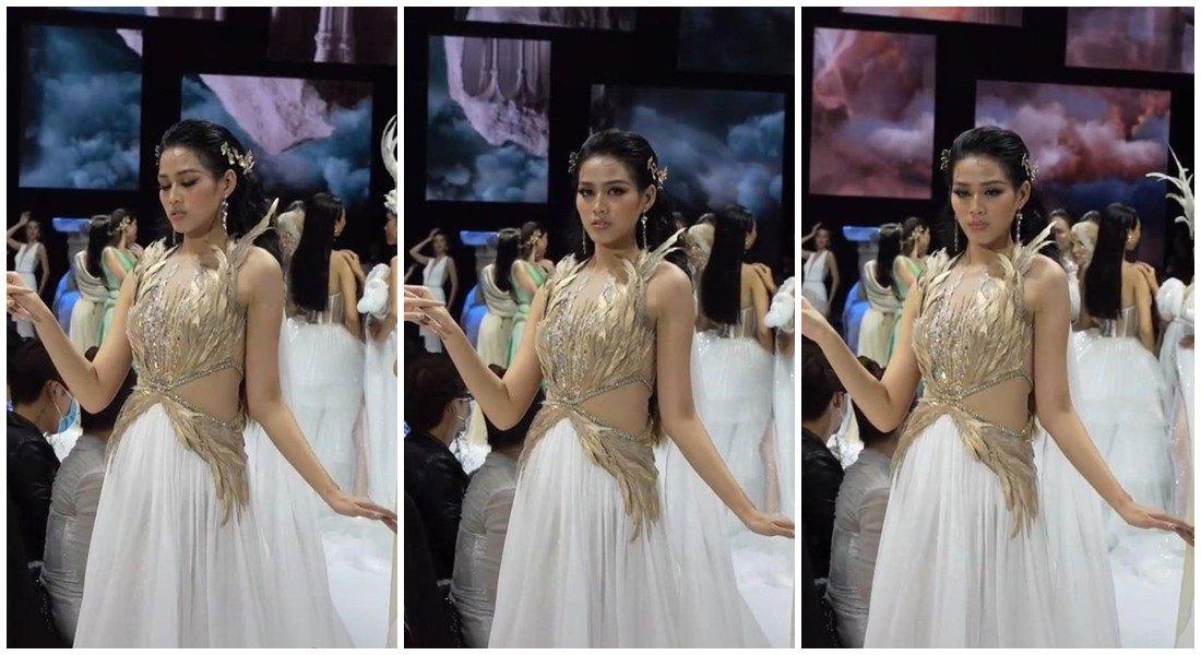 Đăng quang 15 ngày: Hoa hậu Đỗ Thị Hà hết bị chê gầy gò lại lộ bụng mỡ tròn ủm - 5