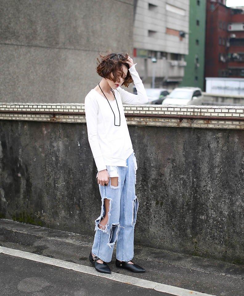 Cứ diện những kiểu quần jeans lỗi mốt này, nàng vừa già chát vừa bị lộ nhược điểm vóc dáng - 1