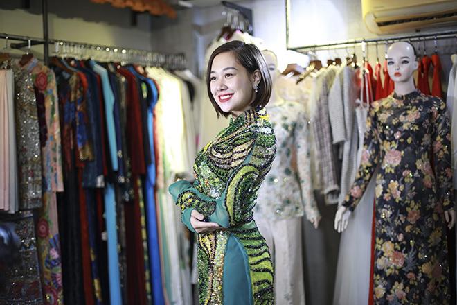 Nữ hoàng truyền cảm hứng Đỗ Thị Vân Anh duyên dáng chọn áo dài - 4