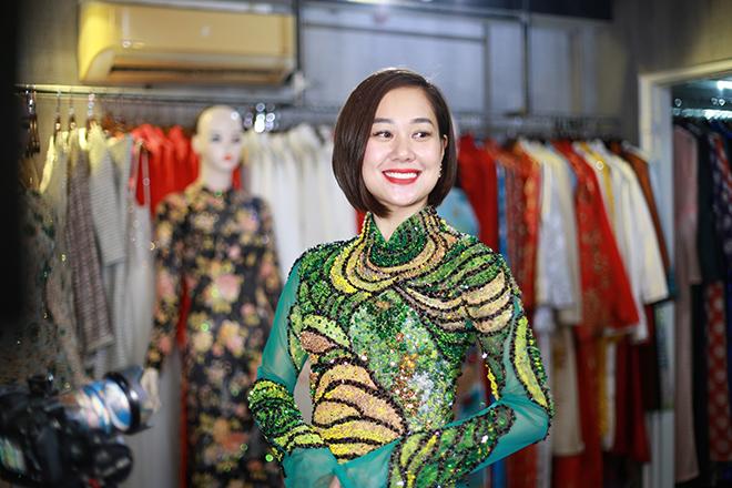 Nữ hoàng truyền cảm hứng Đỗ Thị Vân Anh duyên dáng chọn áo dài - 5
