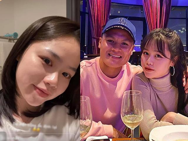 Lộ dấu hiệu tái hợp Quang Hải, Huỳnh Anh rạng rỡ khoe mặt mộc đẹp như tráng gương