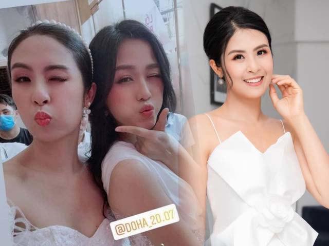Hơn chục tuổi, Hoa hậu Ngọc Hân không ngại đối đầu sắc đẹp với Đỗ Thị Hà