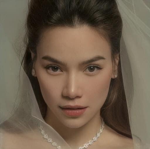 Đeo dây chuyền kim cương, mặc váy cưới lộng lẫy: Hồ Ngọc Hà sắp làm cô dâu? - 6
