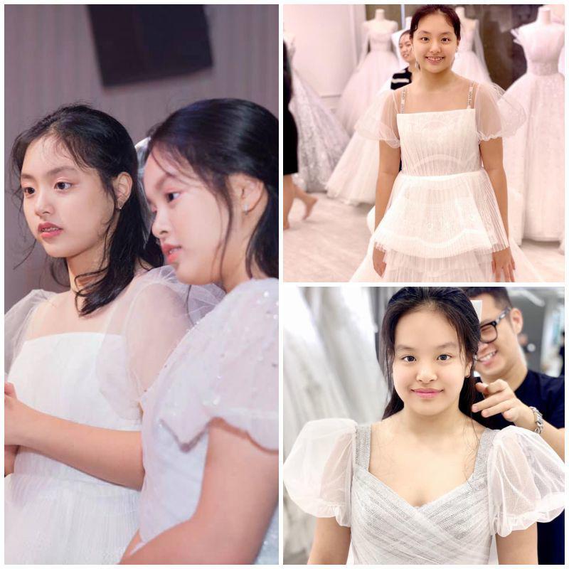 Khoe ảnh gia đình, Thuý Hạnh tự nhận nhỏ nhất nhà: hai con lớn phổng phao xinh như hoa hậu - 4