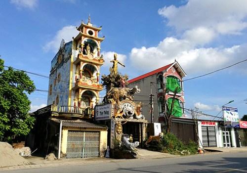 """Ngôi nhà phong thủy kỳ quái ở Hưng Yên hiện tại """"biến hình"""" ra sao? - 4"""