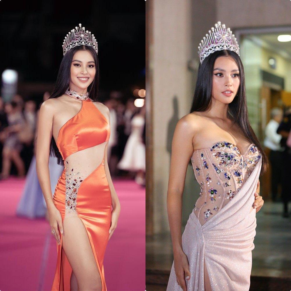 Hết nhiệm kỳ, 2 Hoa hậu nổi tiếng ngoan hiền nhất Vbiz đều amp;#34;xả vaiamp;#34;, mê váy áo hở bạo - 12